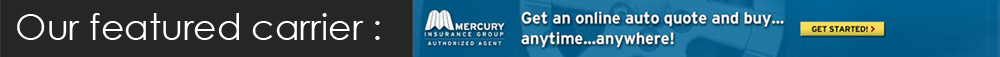 Mercury Online Auto Quote
